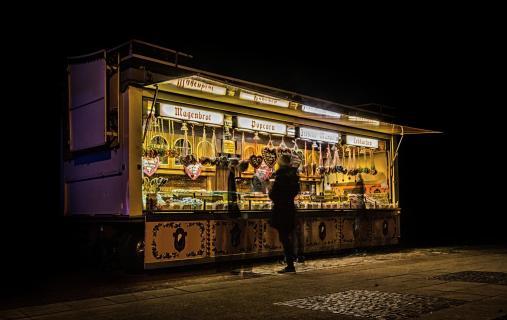 Süßigkeitenwagen