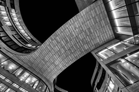 Kö Bogen Düsseldorf - Daniel Libeskind Gebäude