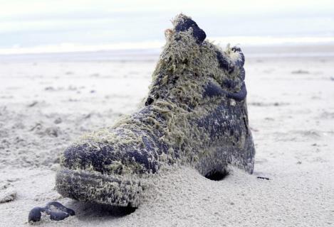 Der zweite einsame Schuh