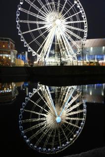 Riesenrad im Albert Dock