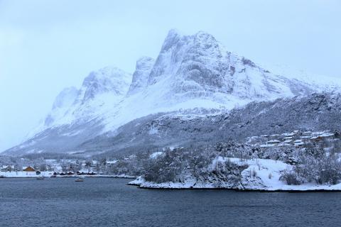 Arktisches Licht - Blaue Stunde