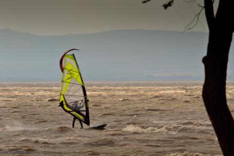 Surfen am See
