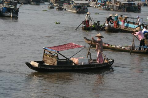Mekong Marktfrau