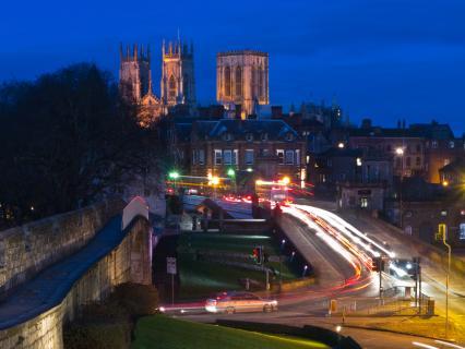 York @ night!