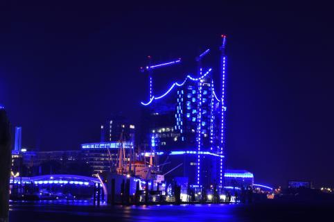 Hamburger Hafen Blue Port 2012
