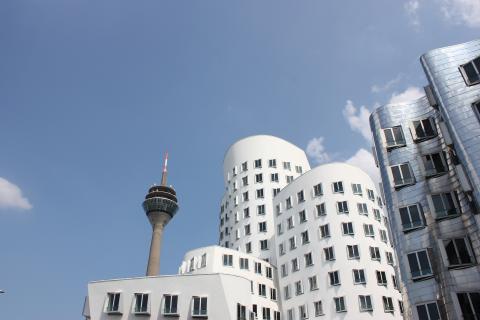 Düsseldorf Medienhafen 2013