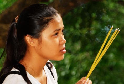Junge Khmer