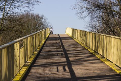 Brückenkopf mit Schatten