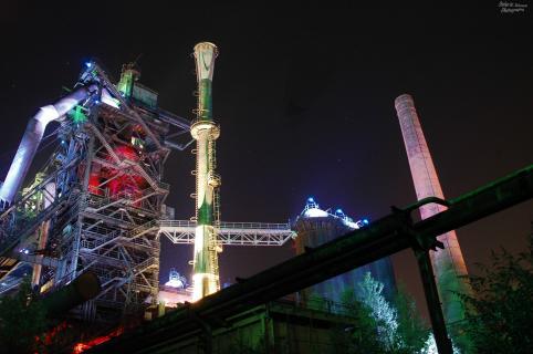 Landschaftspark Duisburg by Night