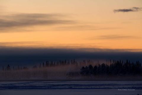Winterstimmung nördlich des Polarkreises