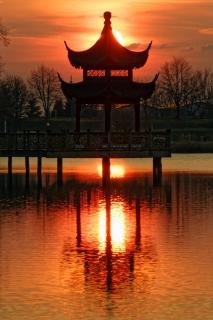 Chinesischer Pavillon Weißensee