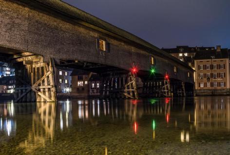 Rheinbrücke in Gailingen