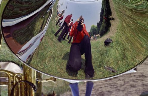 Selfie in Trompete