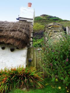 Bauernkate in Cregneash auf der Isle of Man