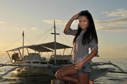 Porträt auf den Philippinen