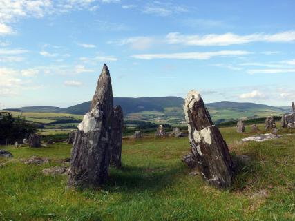 Urgeschichtliche Steinanlage auf der Isle of Man