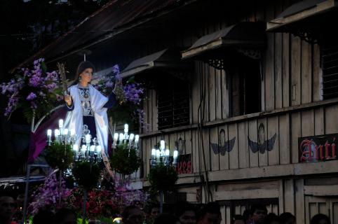 Katfreitagabend auf den Philippinen