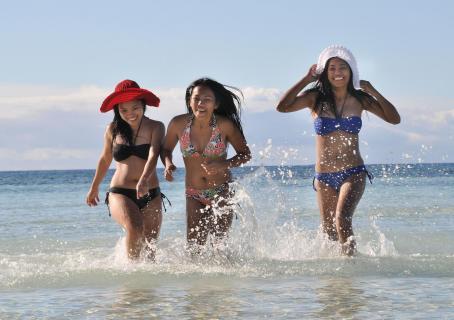 Am Strand von Pangalo