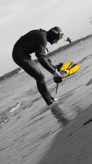 Strandbesucher
