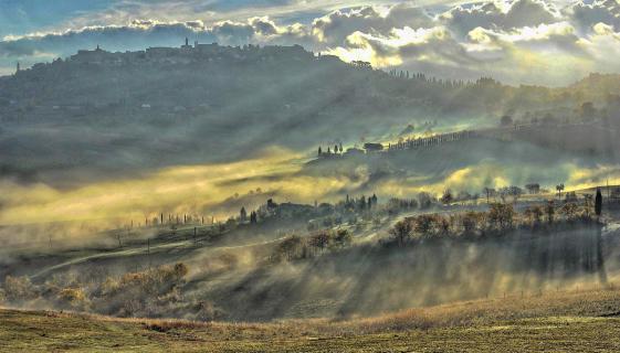 Montepulciano am Morgen