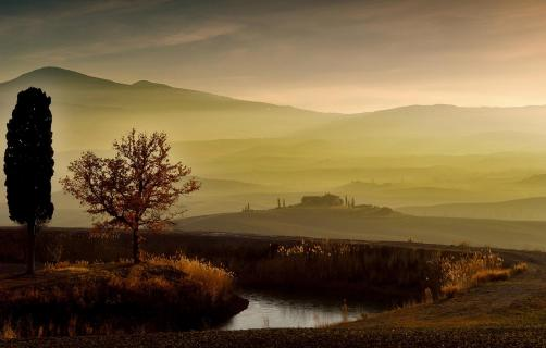 Stimmung im Val d'Orcia