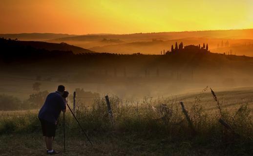 Der Fotograf und sein Motiv