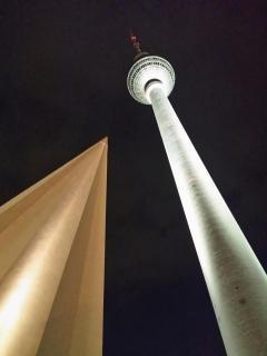 Fernsehturm und Dachspitze