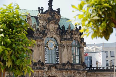 Glockenspielpavillon Zwinger Dresden