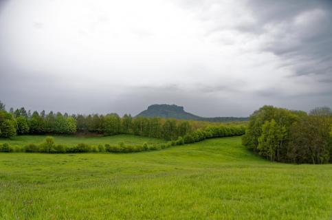 Kulturlandschaft bei Porschdorf und Lilienstein
