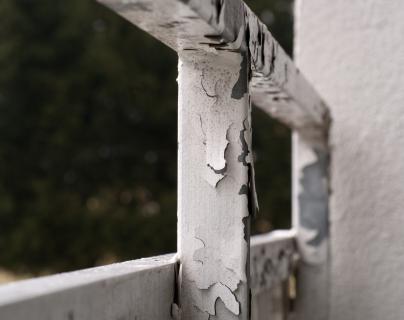Das alte Geländer