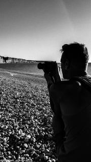 Fotograf am Meer
