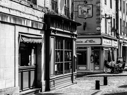 alte Straße in Bayeux