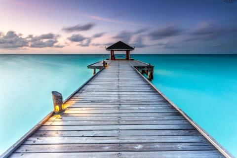 *** JETTY @ Maldives ***