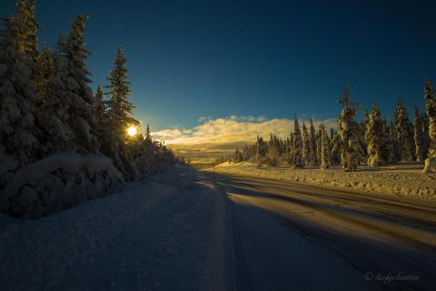 Road to Kiruna