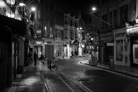 Dublin bei Nacht 1