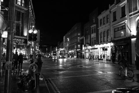 Dublin bei Nacht 3