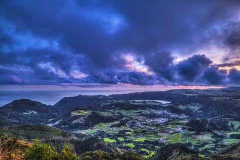 Azoren, Sao Miguel Lagoa das Furnas