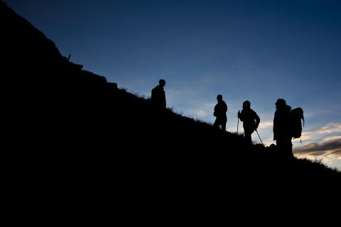 Der Gipfel ruft... ...und der Sonnenaufgang naht!