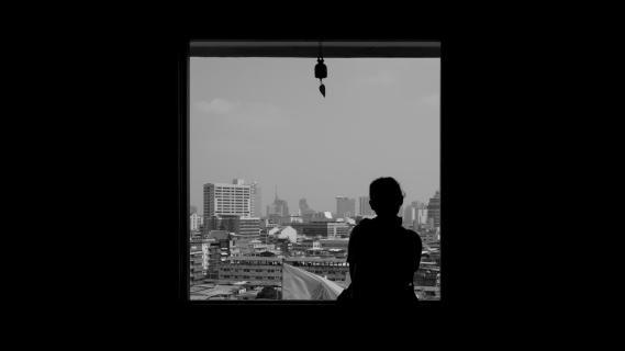 Fenster nach Bangkok