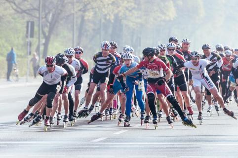Marathon der Inlineskater