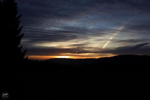 Sunset over Ettelbreck