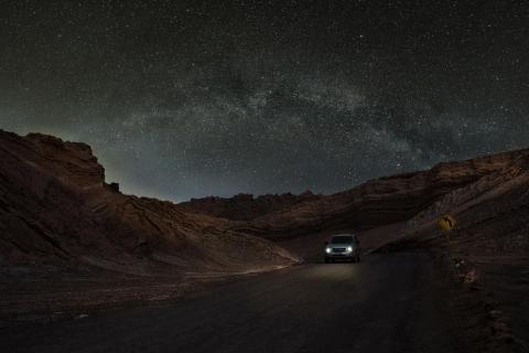 Atakama bei Nacht
