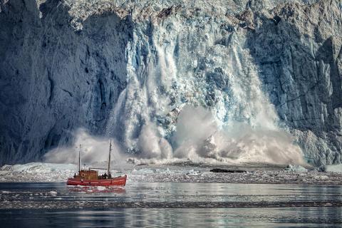 Gletscherkalbung