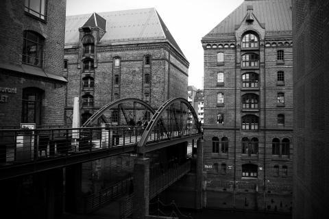 Die Speicherstadt im Vintage-Look