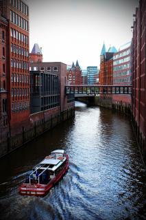 Bootsfahrt durch die Speicherstadt