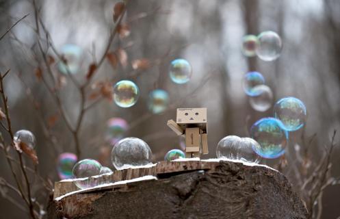 Herr der Seifenblasen