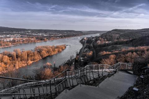 Blick vom_Rolandsbogen_Bonn