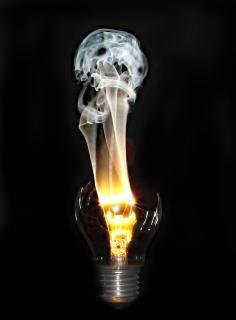 Der Tod der Glühlampe
