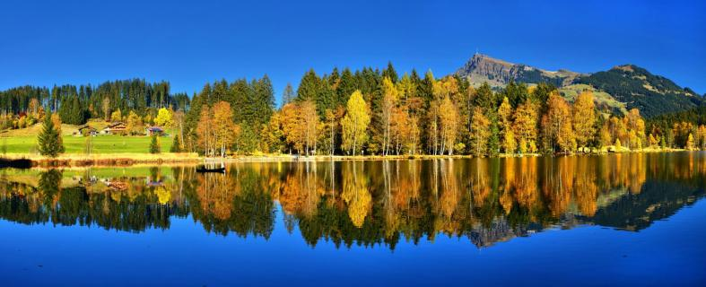 Schwarzsee im Herbst