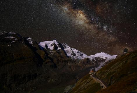 Großglockner mit Milchstraße